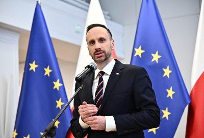 Janusz Kowalski Jacek Sasin konferencja
