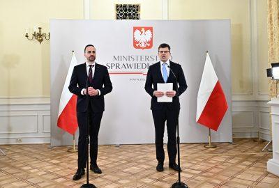 Janusz Kowalski Ministerstwo Sprawiedliwości Marcin Warchoł