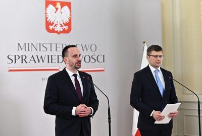 Janusz Kowalski Ministerstwo Sprawiedliwości Marcin Warchoł1