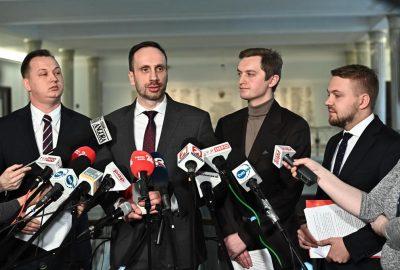 Janusz Kowalski Sebastian Kaleta Jacek Ozdoba Mariusz Kałużny Konstytucja Sejm Konferencja