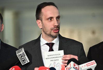 Janusz Kowalski Sebastian Kaleta Jacek Ozdoba Mariusz Kałużny Konstytucja Sejm Konferencja1