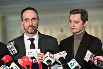 Janusz Kowalski Sebastian Kaleta Sejm Konferencja