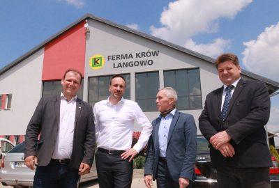 Janusz Kowalski wizyta opolskie Langowo