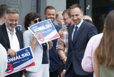 Janusz Kowalski wyborcy